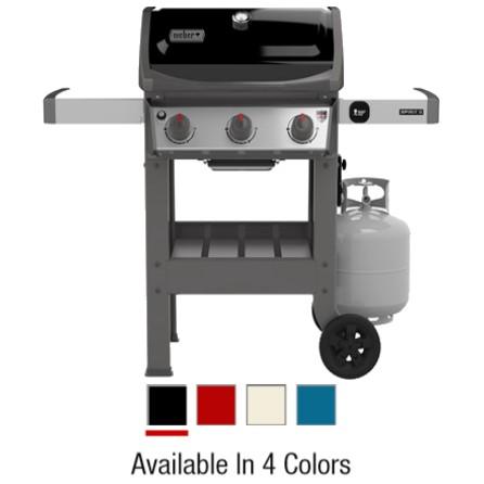 weber spirit ii e 310 3 burner lp gas grill 30 000 btu multiple colors westhampton true value. Black Bedroom Furniture Sets. Home Design Ideas