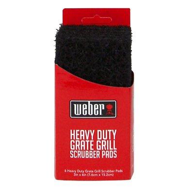 Weber Grill Grate Scrubber Pads, 6-Pk