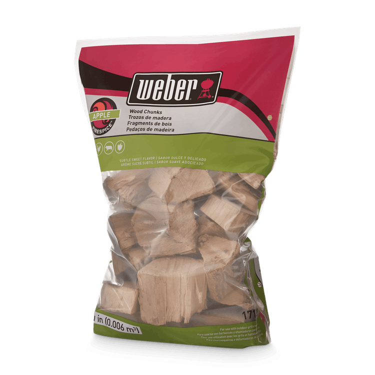 Weber Apple Wood Chunks