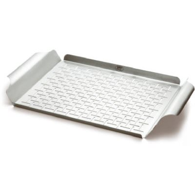 Weber Grill Pan, Stainless Steel