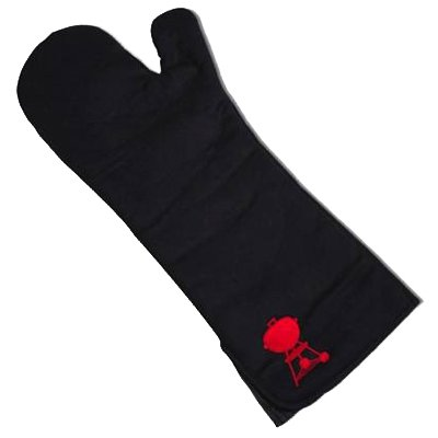 Weber Barbecue Mitt, Black Cotton