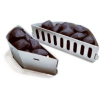 Weber Char Basket Charcoal Fuel Holders, 2-Pk
