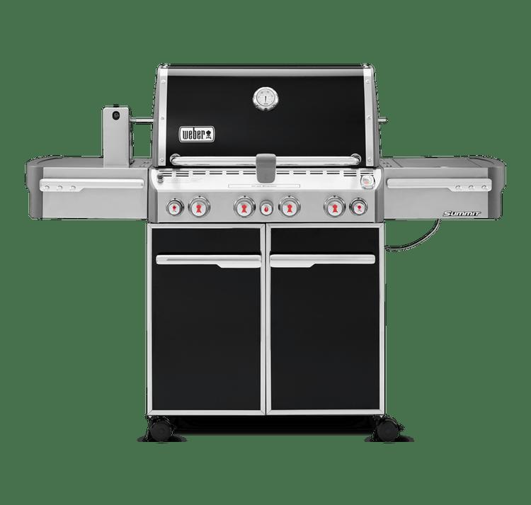 Weber Summit 4-Burner E470 Black LP Grill