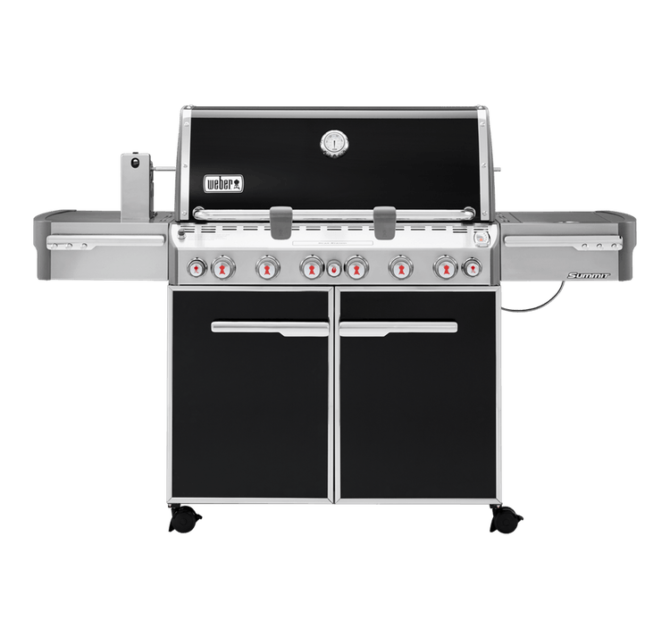 Weber Summit 6-Burner E670 Black LP Grill